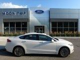 2017 White Platinum Ford Fusion SE AWD #120738603