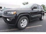 2017 Diamond Black Crystal Pearl Jeep Grand Cherokee Laredo #120749347