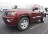 2017 Velvet Red Pearl Jeep Grand Cherokee Laredo #120749345