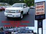 2009 Summit White Chevrolet Silverado 1500 LT Crew Cab 4x4 #12051589