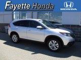 2014 Alabaster Silver Metallic Honda CR-V EX AWD #120749493
