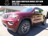 2017 Velvet Red Pearl Jeep Grand Cherokee Limited 4x4 #120774066