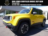 2017 Solar Yellow Jeep Renegade Trailhawk 4x4 #120774064