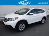2014 White Diamond Pearl Honda CR-V EX AWD #120773815