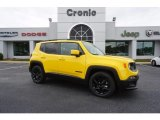 2017 Solar Yellow Jeep Renegade Latitude #120773957