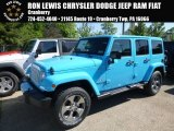 2017 Chief Blue Jeep Wrangler Unlimited Sahara 4x4 #120773898