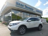 2017 White Diamond Pearl Honda CR-V EX-L AWD #120796695