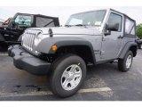 2017 Billet Silver Metallic Jeep Wrangler Sport 4x4 #120796610