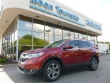 2017 Basque Red Pearl II Honda CR-V EX-L AWD #120796689
