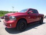 2014 Deep Cherry Red Crystal Pearl Ram 1500 Sport Crew Cab 4x4 #120796672