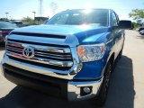 2017 Blazing Blue Pearl Toyota Tundra SR5 Double Cab 4x4 #120796795