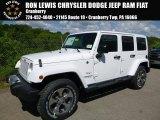 2017 Bright White Jeep Wrangler Unlimited Sahara 4x4 #120796530