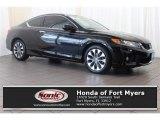 2014 Crystal Black Pearl Honda Accord EX-L Coupe #120796470