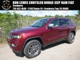 2017 Velvet Red Pearl Jeep Grand Cherokee Limited 4x4 #120796529