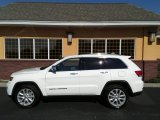 2017 Bright White Jeep Grand Cherokee Limited 4x4 #120796365