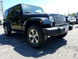 2017 Black Jeep Wrangler Unlimited Sahara 4x4 #120796458