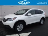 2014 White Diamond Pearl Honda CR-V EX-L AWD #120852071