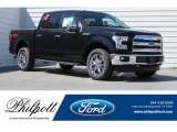 2017 Shadow Black Ford F150 Lariat SuperCrew 4X4 #120852236