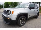 2017 Glacier Metallic Jeep Renegade Sport #120852182