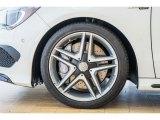Mercedes-Benz CLA 2016 Wheels and Tires