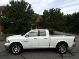 2017 Bright White Ram 1500 Laramie Quad Cab 4x4 #120871504