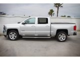 Silver Ice Metallic Chevrolet Silverado 1500 in 2017