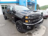 Black Chevrolet Silverado 2500HD in 2017