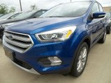 2017 Lightning Blue Ford Escape Titanium 4WD #120883572
