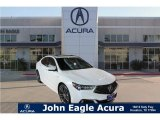 2018 Bellanova White Pearl Acura TLX V6 SH-AWD A-Spec Sedan #120883177