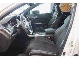 2018 Acura TLX V6 SH-AWD A-Spec Sedan Ebony Interior