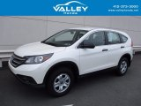 2014 White Diamond Pearl Honda CR-V LX AWD #120883162