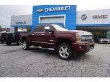 2017 Butte Red Metallic Chevrolet Silverado 2500HD High Country Crew Cab 4x4 #120883427