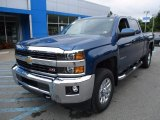 Deep Ocean Blue Metallic Chevrolet Silverado 2500HD in 2017