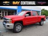 2017 Red Hot Chevrolet Silverado 2500HD LTZ Crew Cab 4x4 #120883213