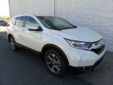 2017 White Diamond Pearl Honda CR-V EX AWD #120916006