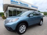 2014 Mountain Air Metallic Honda CR-V EX AWD #120916141