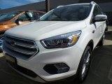 2017 White Platinum Ford Escape Titanium 4WD #120916246