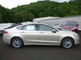 2017 White Gold Ford Fusion SE #120916133