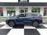 2016 Obsidian Blue Pearl Honda CR-V SE #120916201