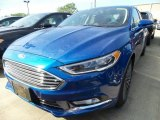 2017 Lightning Blue Ford Fusion SE #120947077