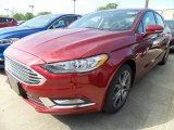 2017 Ruby Red Ford Fusion SE #120947074