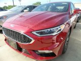 2017 Ruby Red Ford Fusion Sport AWD #120947069