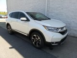 2017 White Diamond Pearl Honda CR-V Touring AWD #120946835