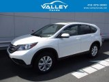 2014 White Diamond Pearl Honda CR-V EX AWD #120946781