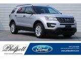 2017 Ingot Silver Ford Explorer FWD #120946937
