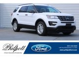 2017 Oxford White Ford Explorer FWD #120946936
