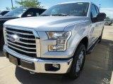 2017 Ingot Silver Ford F150 XL SuperCab 4x4 #120947099