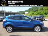2017 Lightning Blue Ford Escape Titanium 4WD #120946819