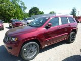 2017 Velvet Red Pearl Jeep Grand Cherokee Laredo 4x4 #120946926