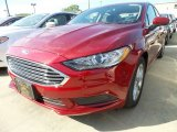 2017 Ruby Red Ford Fusion SE #120947091